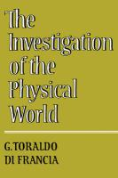 The Investigation of the Physical World