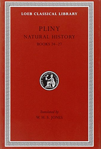 Pliny: Natural History, Volume VII, Books 24-27. Index of Plants. (Loeb Classical Library No. 393) - Pliny