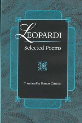 Leopardi : Selected Poems - Giacomo Leopardi