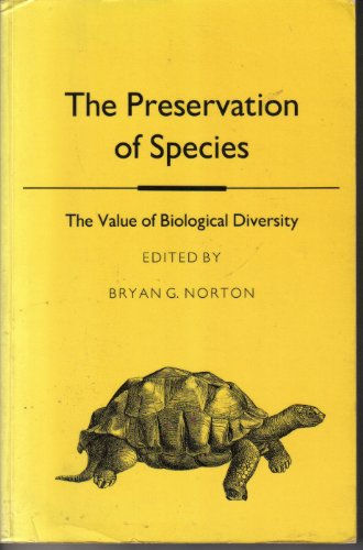 The Preservation of Species (Princeton Legacy Library)