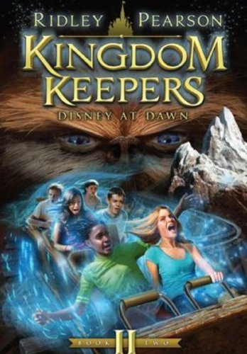 Disney At Dawn (Turtleback School  &  Library Binding Edition) (Kingdom Keepers) - Ridley Pearson