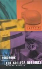 Handbook for College Research Second Edition