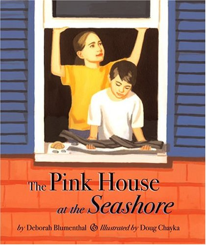 The Pink House at the Seashore - Deborah Blumenthal