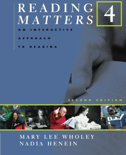 Reading Matters 4 (Bk. 4) - Mary Lee Wholey; Nadia Henein