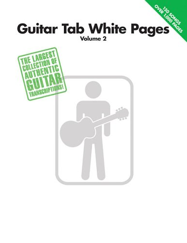 Guitar Tab White Pages, Volume 2 - Hal Leonard Corp.
