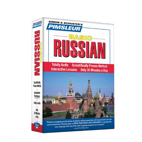 Pimsleur Russian Basic Course - Level 1 Lessons 1-10 CD: Learn to Speak and Understand Russian with Pimsleur Language Programs - Pimsleur