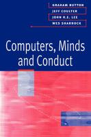Computers, Minds and Conduct