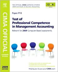 CIMA's Official Learning System Test of Professional Competence in Management Accounting