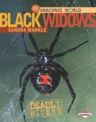 Black Widows: Deadly Biters (Arachnid World) - Sandra Markle