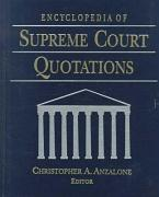 Encyclopedia of Supreme Court Quotations