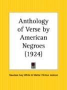 Anthology of Verse by American Negroes