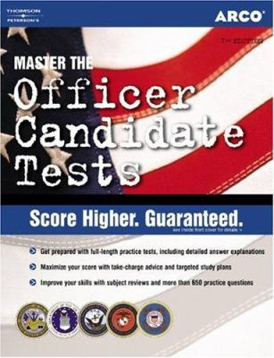 Officer Candidate 7e - Arco Publishing Staff; Weiner