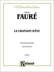 La Chanson D'Eve: French Language Edition
