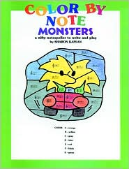 Color by Note Monsters
