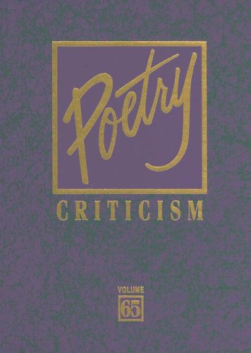 Poetry Criticism - Michelle Lee