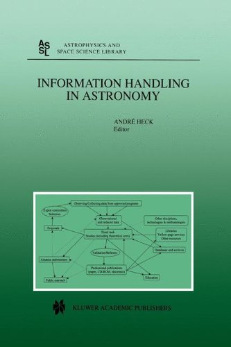 Information Handling in Astronomy (Astrophysics and Space Science Library Volume 250) - Andre Heck