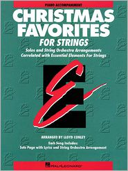 Christmas Favorites - Piano Accompaniment Essential Elements for Strings
