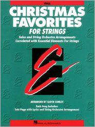 Christmas Favorites - Viola Essential Elements for Strings