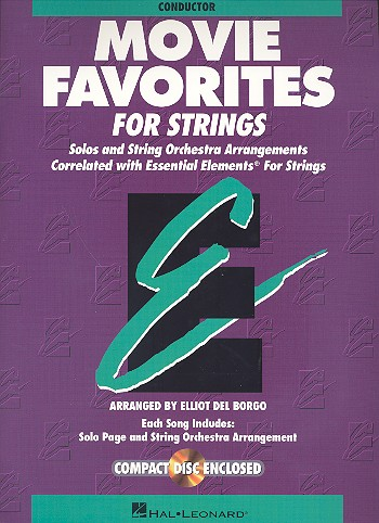 Movie Favorites - Conductor Essential Elements for Strings