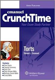 Emanuel Crunchtime: Torts