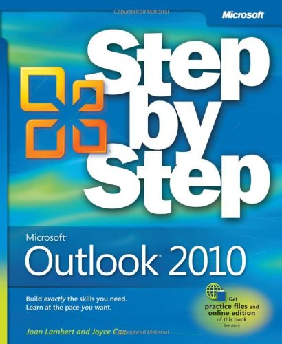 Microsoft Outlook 2010 Step by Step - Joan Lambert III, Joyce Cox