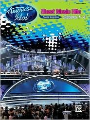 American Idol: Sheet Music Hits, Seasons 1-4: Easy Piano