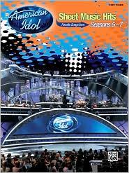 American Idol: Sheet Music Hits, Seasons 5-7: Easy Piano