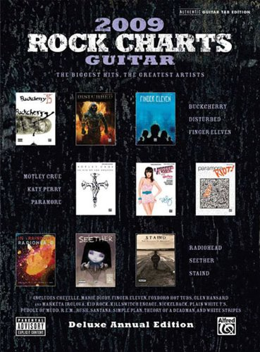 Rock Charts Guitar 2009: Deluxe Annual Edition (Authentic Guitar-Tab Editions) - Hal Leonard Corp.