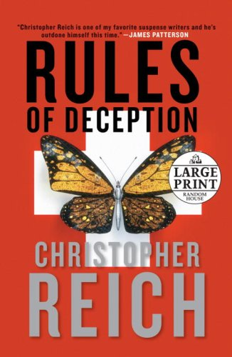 Rules of Deception (Random House Large Print) - Christopher Reich