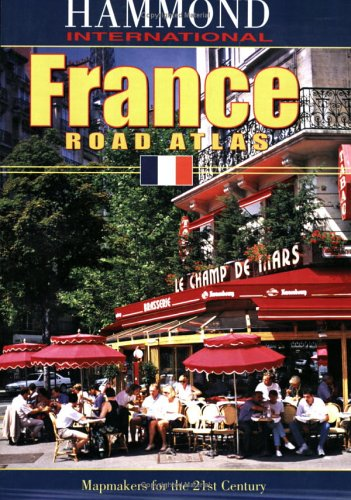 France Road Atlas - Hammond World Atlas Corporation