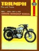 Triumph Pre-Unit Twins Owners Workshop Manual, No. 251: 47-62