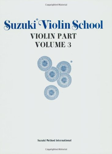 Suzuki Violin School: Violin Part Volume 3 - Alfred Publishing Staff