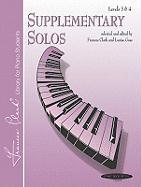 Supplementary Solos: Levels 3 & 4