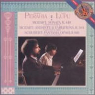 Mozart: Sonata in D major for Two Pianos K. 448; Schubert: Fantasia in F minor - Murray Perahia