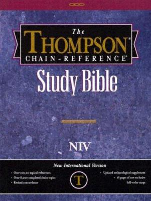 Thompson Chain-Reference Bible : Burgundy Indexed - Thompson Chain Reference Bible Staff