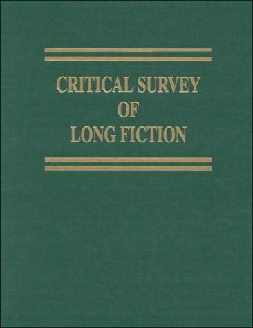 Critical Survey of Long Fiction: V. S. Pritchett-August Strindberg - Carl E. Rollyson; Frank Northen Magill