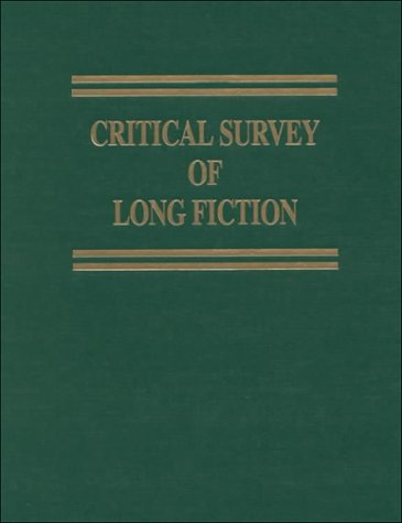 Critical Survey of Long Fiction: Volume 8: Essays - Carl E. Rollyson; Frank Northen Magill