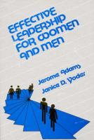 Effective Leadership for Women and Men
