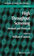 High Throughput Screening: Methods and Protocols