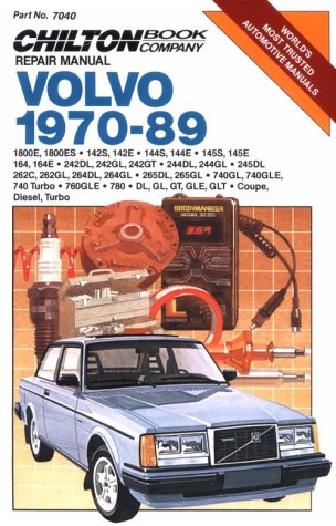 Volvo, 1970-89 (Chilton's Repair Manual (Model Specific)) - Chilton