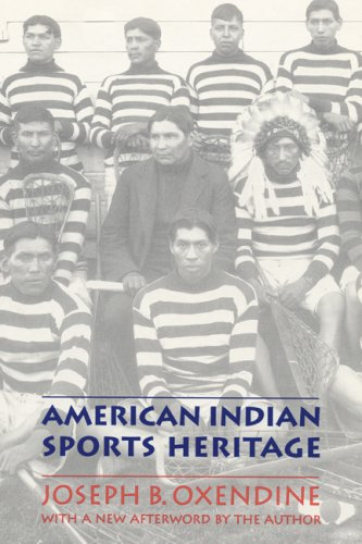 American Indian Sports Heritage - Joseph B. Oxendine