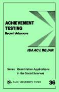 Achievement Testing: Recent Advances
