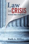 Law in Crisis: The Ecstatic Subject of Natural Disaster