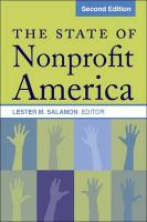 The State of Nonprofit America: Second Edition