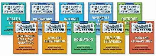 Field Guides to Finding a New Career Set, 10-Volumes