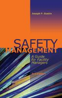 Safety Management: A Guide for Facility Managers, Second Edition