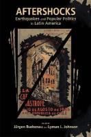 Aftershocks: Earthquakes and Popular Politics in Latin America (Dialogos)