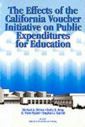 The Effects of the California Voucher Initiative on Public Expenditures for Education