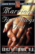 Marriage: First Things First Book 1
