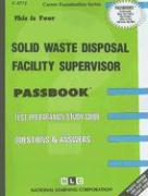 Solid Waste Disposal Facility Supervisor
